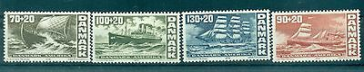NAVIRES - SHIPS DANEMARK 1976 200th Ann Independence of America