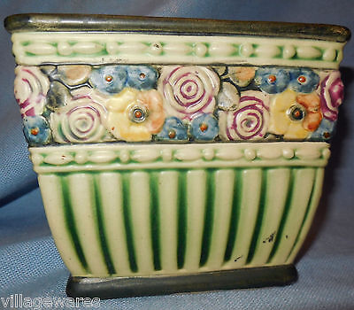 Unsigned Pottery Planter Stamped Cripple Creek, Colorado