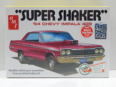 "1:25 1964 Chevy Impala 409 ""Super Shaker"" AMT AMT917"