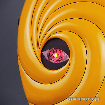NARUTO Akatsuki Ninja Tobi Obito Madara Uchiha Cosplay Helmet DX Version Mask