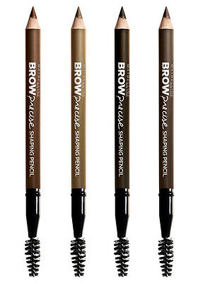 Maybelline BROW PRECISE Eyebrow Shaping Pencil NEW SEALED ON CARD SELECT SHADE
