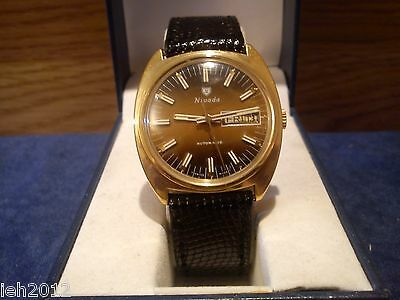 Nivada, Swiss, Automatic, day /date quick set...