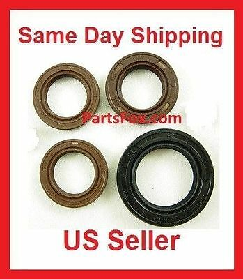 Scooter 4 Oil Seals GY6 150cc Moped Scooter Engine Crankshaft Transmission Part