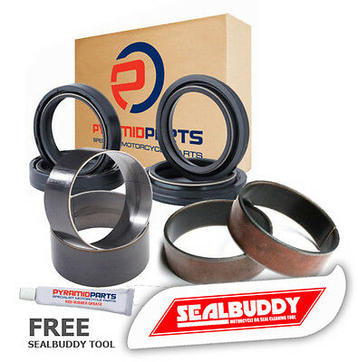 KYB 48mm Fork Kit Fork Seals Dust Seals Bushes Yamaha YZ125 YZ250 YZ450 YZ