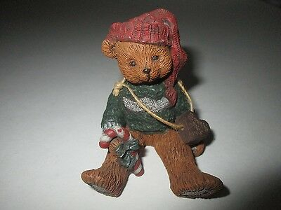 "Sarah's Attic 1993 Limited Edition ""Christmas Bear"" Figurine  **RARE**"