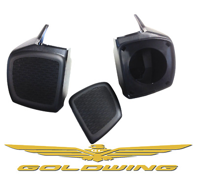 Honda Gold Wing 1800 2001-2017 Rear music upgrade. Goldwing Speaker pods. SALE