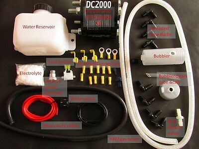 HHO-Plus DC2000 Dry Cell HHO Kit.  Engines 1.4-2.5 Litre. CE certified