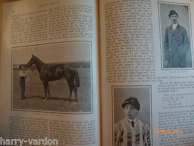 Pretty Polly Rare Old Antique Photo Article Turf HorseRacing 1905 Clarehaven
