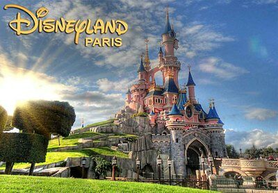 DISNEYLAND PARIS FRANCE - Travel Souvenir Fridge Magnet 3 #fm85