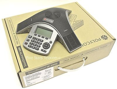 Polycom IP 5000 VoIP Conference Phone PoE (2200-30900-025) - NEW