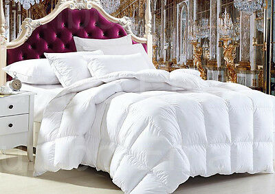 Aus Made ALL SIZE Luxury Premium Bamboo and Wool Winter Quilt-400GSM