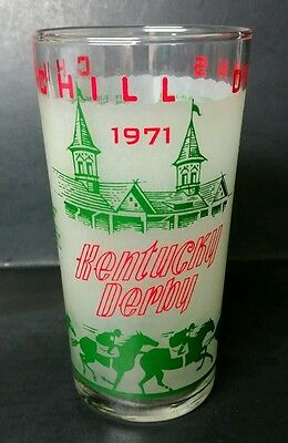 1971 Official Kentucky Derby Julep Glass - Excellent Condition