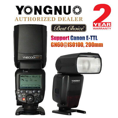 Yongnuo YN600EX-RT II Wireless Flash TTL Slave Master HSS For Canon 7D 650D AU