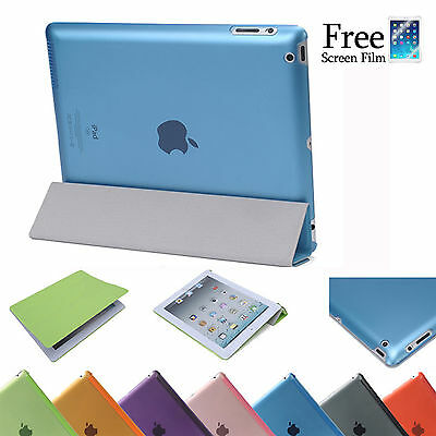 Smart Cover With Back Case for Apple New iPad 4 3 2 iPad Air iPad mini 3 2 1