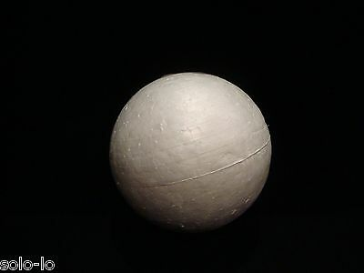 4 x Polystyrene Craft Poly foam Ball 9cm Non-toxic Acid Free New