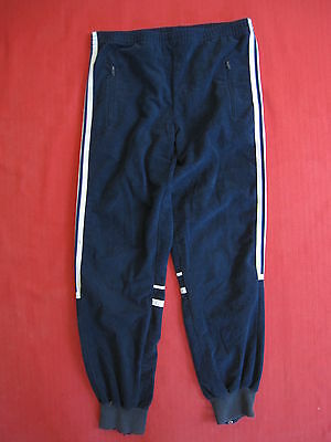 Pantalon Bas survetement Adidas Challenger Marine France Vintage 80'S - 12 ans