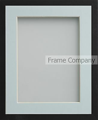 Frame Company Webber Range Black Wooden Picture Photo Frames with Mount