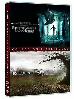 Pack Expediente Warren Dvd 1 + 2 El Caso Enfield + The Conjuring ( Sin Abrir )