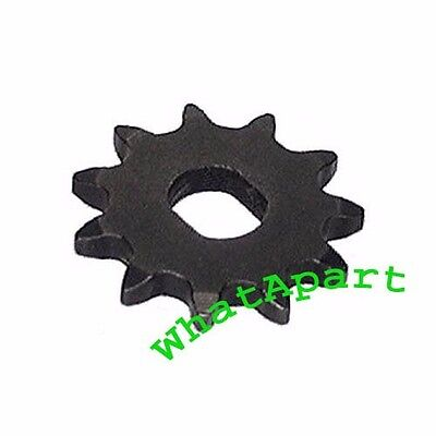11 Tooth Sprocket (Dual D-bore, use 8mm chain) for electric scooter motors