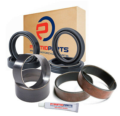 Honda CRF450 R CRF 2002-2008 47mm Fork Oil Seals Dust Seals and Bushes