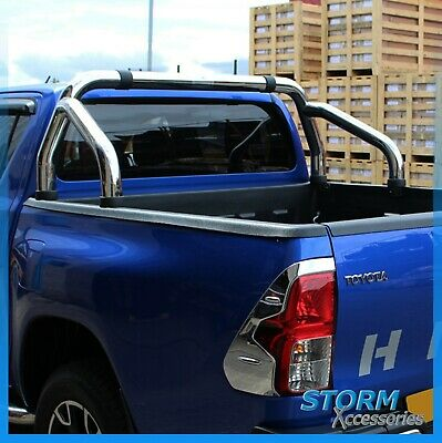 Toyota Hilux 2005 + EGR Stainless Steel Sports Roll Bar - T304 - 76mm - 3 inch