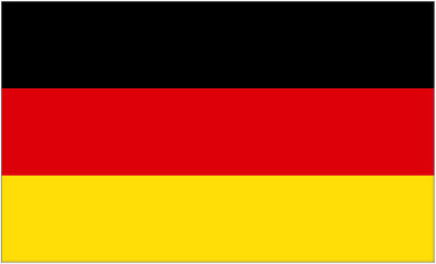Flag of Germany - 5' x 3' (150 x 90cm)