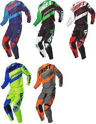 2016 SHIFT / Fox Mens MX ATV Offroad Motocross Assault Jersey & Pant Combo
