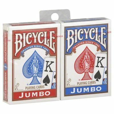 12 x Bicycle Playing Cards Decks 6 Red & 6 Blue Casino Poker Snap Family Games