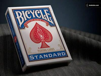 Bicycle Playing Cards Blue Deck Casino Poker Fun Cards Casino Family Games Snap