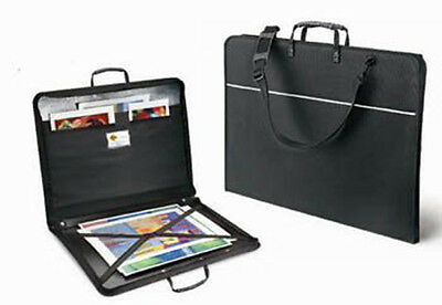 Mapac Quartz Zipped Portfolio Case - No Rings - A3