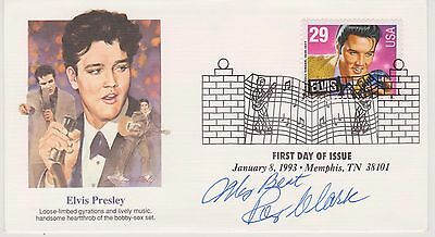 Signed Roy Clark Fdc Autographed First Day Cover Cachet Hee Haw