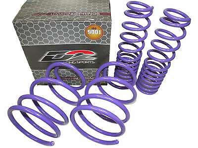 D2 Racing Lowering Springs for 08-15 Mitsubishi Lancer Evolution EVO X