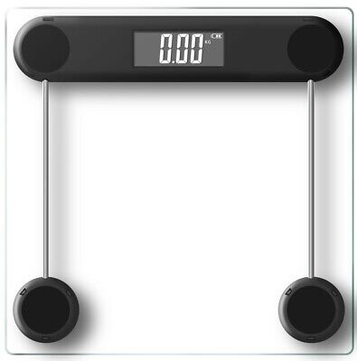Electronic Digital Glass Body Bathroom Scale 180KG Free Shipping! Gym Weight