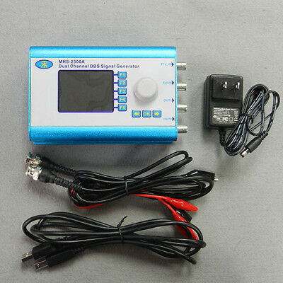 5MHz Arbitrary Waveform Dual Channel CNC DDS Function Signal Generator Sweep LED