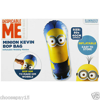 Despicable Me Minion Inflatable Bop Bag(PUNCHING BAG)FUN UNLIMITED FREE DELIVERY