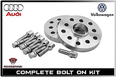 (2) 20mm Spacers 5x100 / 5x112 Forged Hub Centric Wheel Spacer Kit 57.1mm Bore