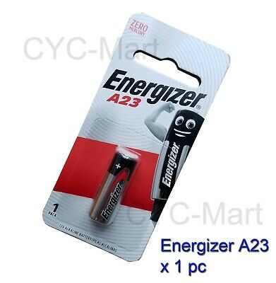 Energizer 1 pc A23 23A (BP1) Car Remote / Door Bell Batteries FREE POST