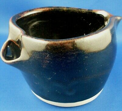 Stamped HAND-CRAFTED Men's POTTERY SHAVING MUG VG Man Cave - in Australia.