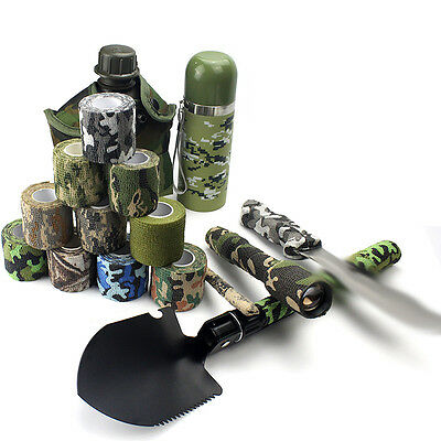 Military Adhesive Fabric Camo Tape Gun / Flashlight Wrap