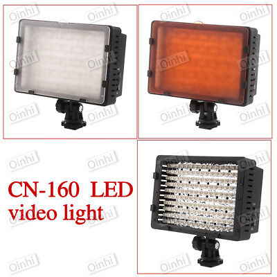 Neewer CN-160 LED Video Light for Camera Camcorder Canon Nikon Pentax Sony