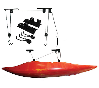 Storage Lift Pulley System for Kayaks / Cycles - 20kg Capacity - Riber