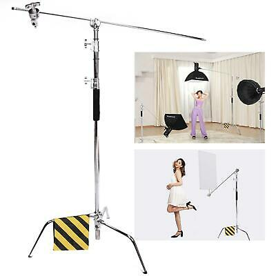 Pro Super Heavy Duty 300cm SOLID C-Stand W127CM Boom Arm arm grip head Sandbag