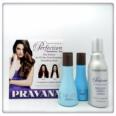 PRAVANA Perfection SmoothOut  Shampoo / Conditioner / Smoothing Solution Trio