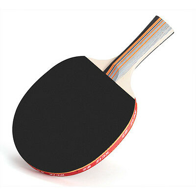 Brand New Table Tennis Ping Pong Racket Bat + Bag Cover Outdoor Sports