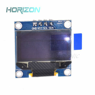 "5PCS Blue 3-5V 0.96"" I2C Serial 128X64 OLED LCD LED Display Module for Arduino"