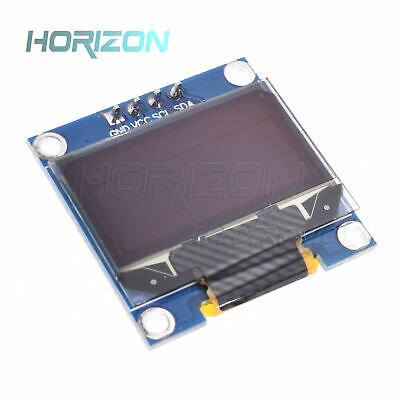 "Blue 3-5V 0.96"" I2C Serial 128X64 OLED LCD LED Display Module for Arduino"