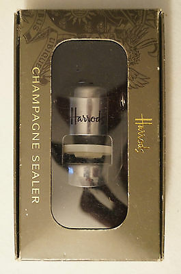 Collectable - Useable - Harrods - Champagne Sealer