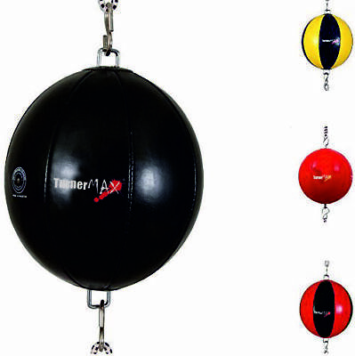 TurnerMAX Boxing Training Double End Speedbag Punching Ball Black