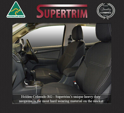 Holden Colorado RG  2012-on Premium Neoprene Waterproof FRONT Seat Covers