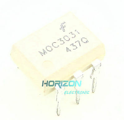 10Pcs Moc3031 Fsc Optoisolator 7.5Kv Triac 6Dip New Good Quality